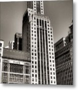 Chicago Architecture - 12 Metal Print