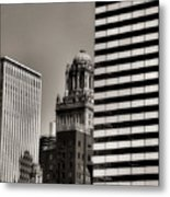 Chicago Architecture - 14 Metal Print