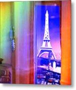 Chicago Art Institute Miniature Paris Room Pa Prismatic 08 Vertical Metal Print