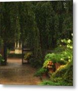 Chicago Botanical Gardens Metal Print