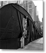Chicago Bridge  Metal Print