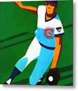 Chicago Cubs 1972 Official Program Metal Print