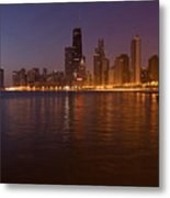 Chicago Dawn Metal Print