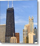 Chicago Downtown Metal Print
