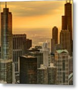 Chicago Evenings Metal Print