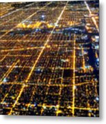 Chicago From Above 2 Metal Print