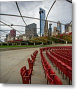 Chicago From Pritzker Metal Print