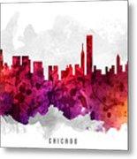 Chicago Illinois Cityscape 14 Metal Print