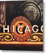 Chicago Is Metal Print