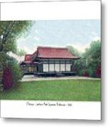 Chicago - Japanese Tea Houses - Jackson Park - 1912 Metal Print