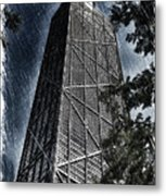 Chicago John Hancock In June Pa 01 Metal Print