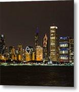 Chicago Lake Front Metal Print
