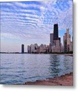 Chicago Lakeshore Metal Print