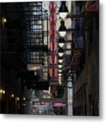 Chicago Loop, Goodman Theater Marguee Metal Print