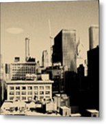 Chicago Loop Skyline Metal Print