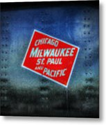 Chicago Milwaukee St. Paul And Pacific Metal Print