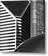 Chicago Mirage Metal Print