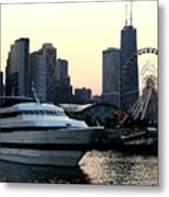 Chicago Navy Pier Metal Print