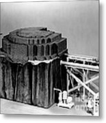 Chicago Pile-1, Scale Model Metal Print