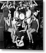 Chicago Prohibition New Years 1927 Metal Print
