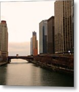 Chicago Rive Metal Print