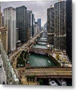 Chicago River Metal Print