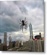 Chicago-room With A View Metal Print