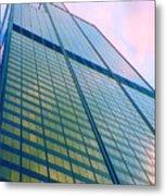 Chicago Sears Willis Tower Pop Art Metal Print