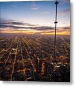 Chicago Skies Metal Print