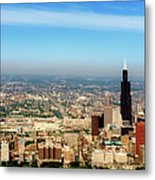 Chicago Skyline - 1990s Metal Print