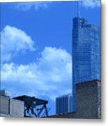 Chicago Skyline 2 Metal Print