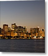 Chicago Skyline Panorama Metal Print
