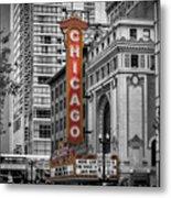 Chicago State Street Metal Print