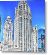 Chicago The Gothic Tribune Tower Metal Print