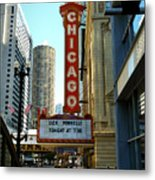 Chicago Theater - 1 Metal Print