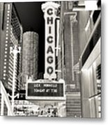 Chicago Theater - 2 Metal Print