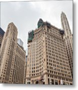 Chicago Towers Metal Print