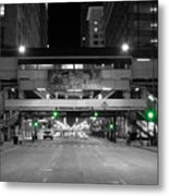 Chicago Train Station Metal Print