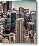 Chicago Views Metal Print