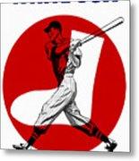 Chicago White Sox 1960 Scorebook Metal Print