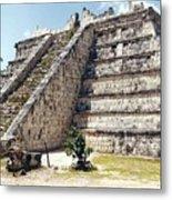 Chichen Itza Mexico 4 Metal Print