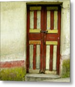 Chichi Door Metal Print