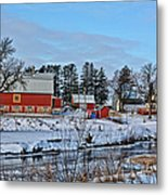 Chickasaw Winter Metal Print