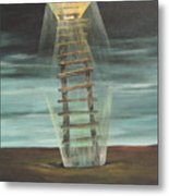 Chickasaw's Ladder Metal Print