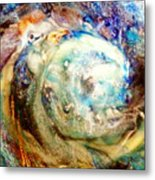 Chicken And The Egg Metal Print