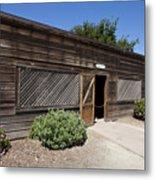 Chicken Coop At Ardenwood Historic Farm Metal Print