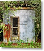 Chicken Coop Metal Print