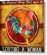 Chicken Little Metal Print by Joel Payne