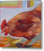 Chicken Little Metal Print