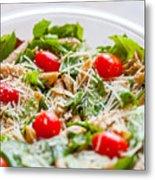 Chicken Pasta Salad Metal Print